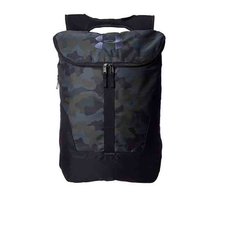 UA EXPANDABLE SACKPACK-DES/BLK/BLK